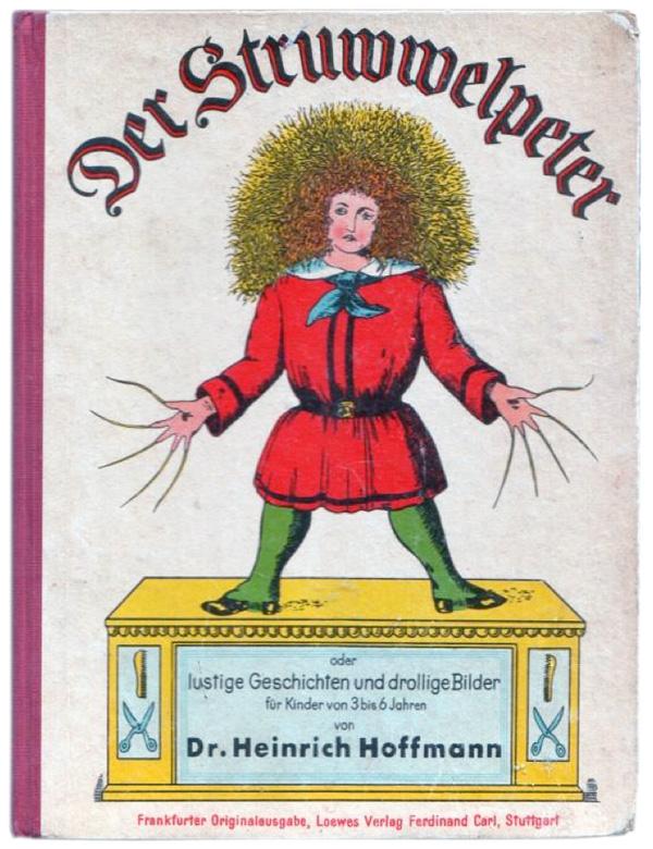 Heinrich Hoffmann, Der Struwwelpeter - copertina