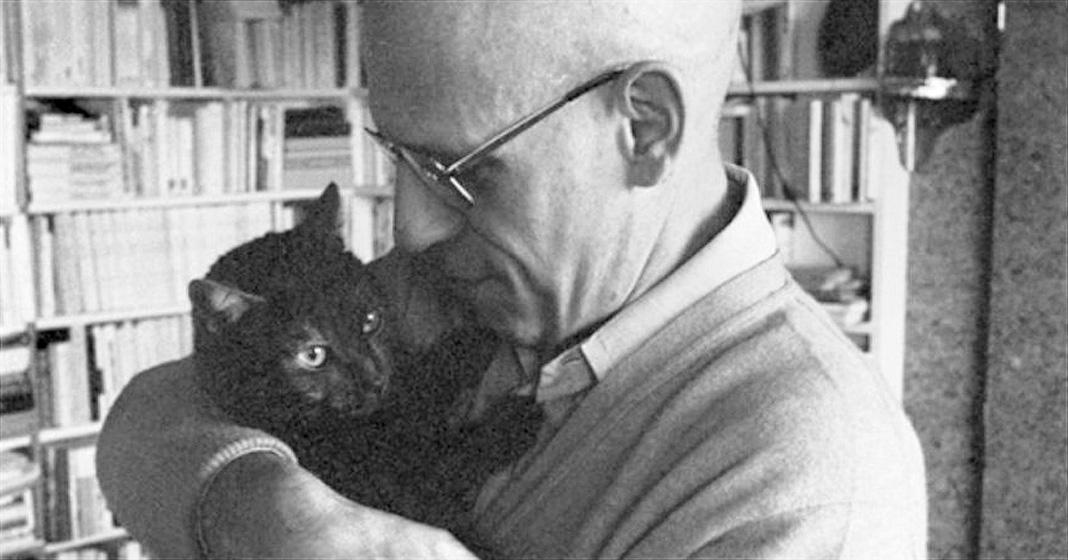 Michel Foucaut and Cat