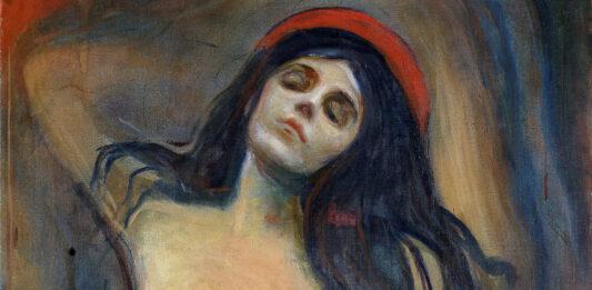 Edvard Munch, Madonna, 1894, Munch Museum, Oslo (particolare)