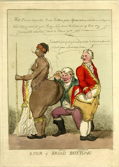 William Heath, A Pair of Broad Bottoms, Londra, 1810