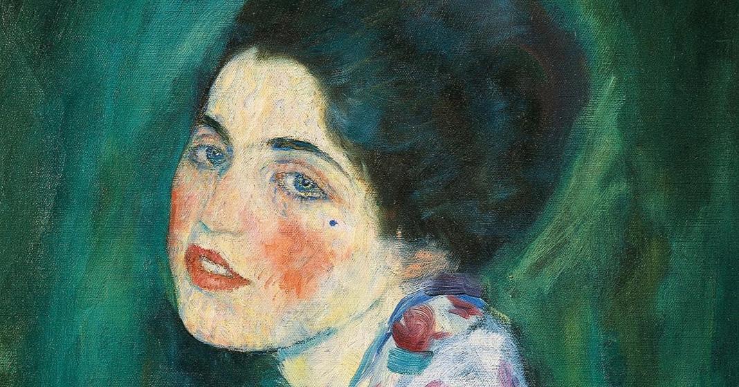 Gustav Klimt, Ritratto di signora, 1910 ca.