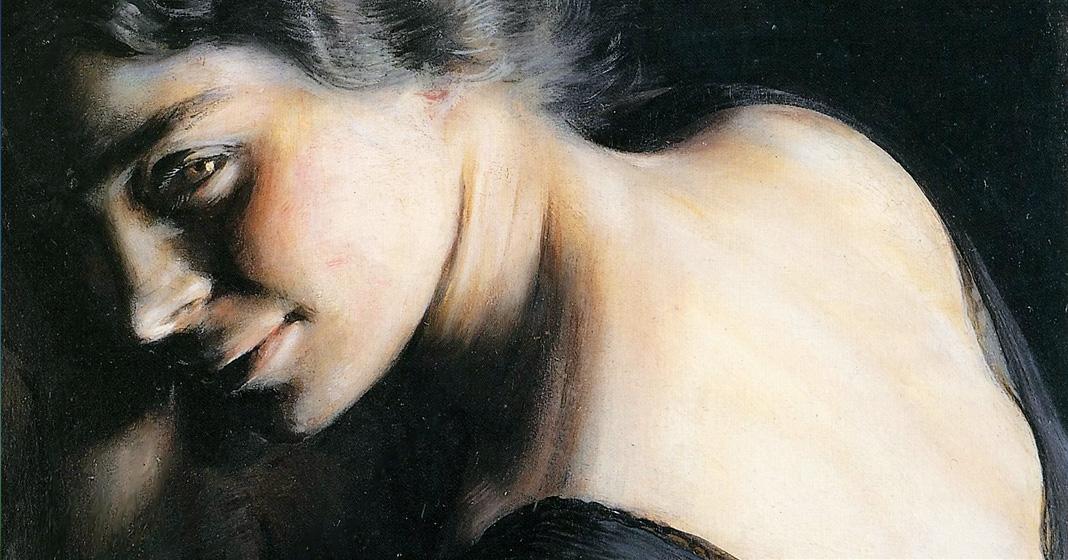 Giacomo Balla, Il dubbio, particolare