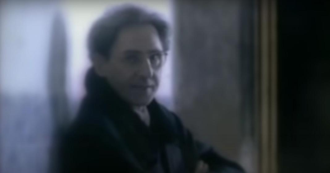 Franco Battiato, fotogramma dal video de La cura