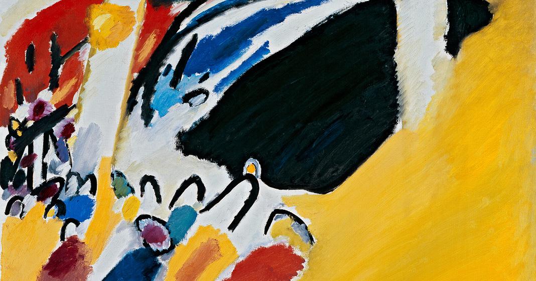 Wassily Kandinsky, Impression III (Konzert), 1911 (particolare)