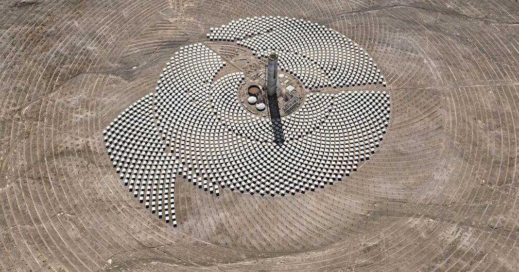 Burtynsky, Cerro Dominador Solar Project #1, Atacama Desert, Chile, 2017