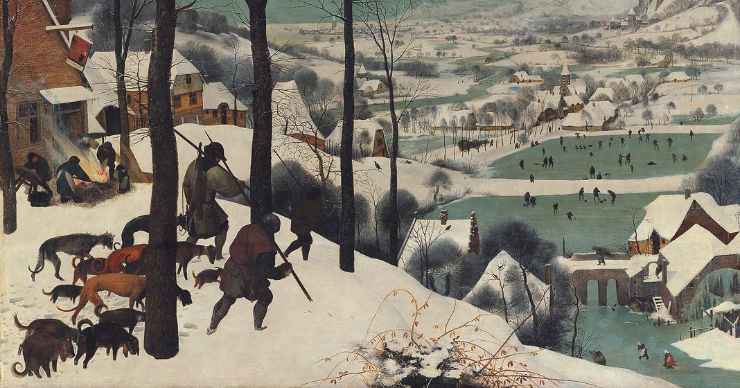 Pieter Bruegel il Vecchio, Cacciatori nella neve