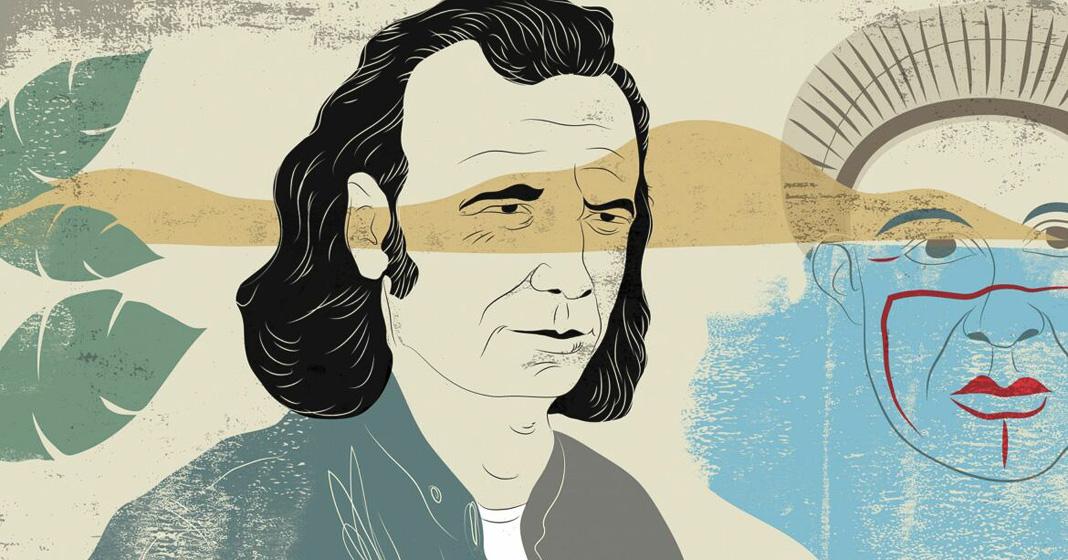 Christian Tiffet, ritratto di Pierre Clastres