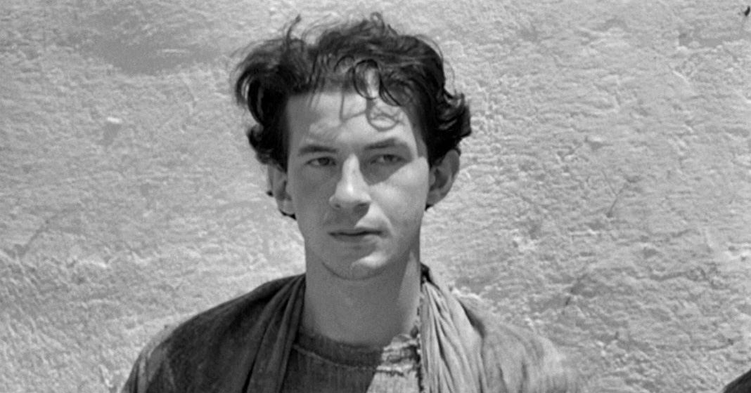 Giorgio Agamben in Il Vangelo secondo Matteo di Pier Paolo Pasolini, 1964